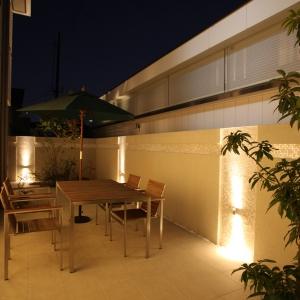 タカショーエクステリア&ガーデンライティングマイスター 第5回 光の施工例コンテスト 光の施工例コンテストにて入選特別賞を受賞しました。