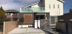 モダンでハイセンスな二世帯住宅の外構